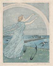 Maria YAKUNCHIKOVA. Elusive (L'Insaisissable). 1895