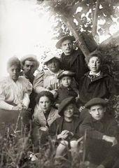 Vera Wulff, George Wulff, Alexandra Golshtein, Leon Weber, Maria Yakunchikova-Weber
