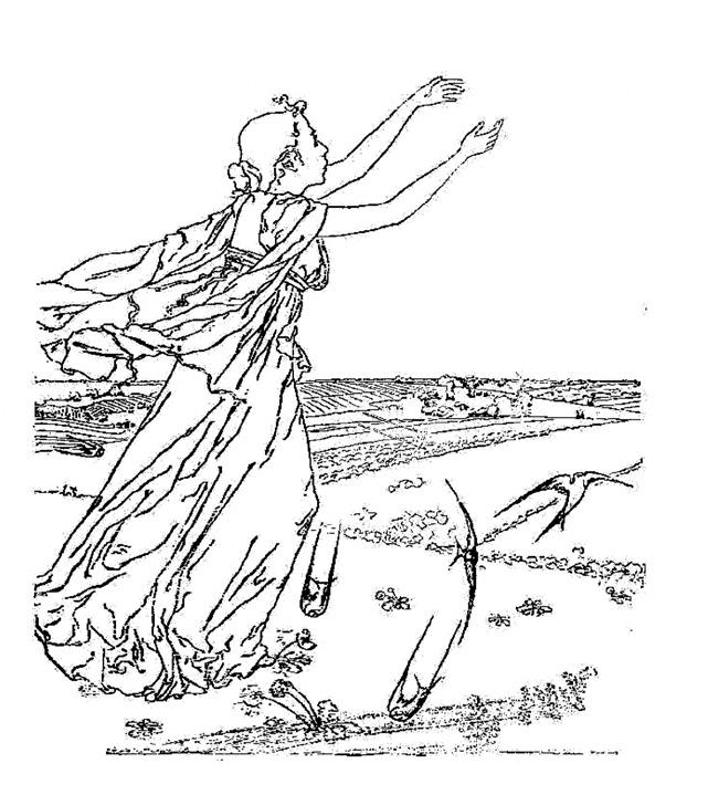 Maria YAKUNCHIKOVA. L'Inaccessible [Unattainable]. First half of 1890s