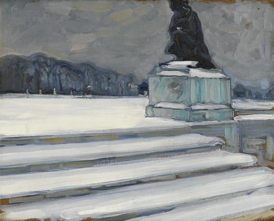 Maria YAKUNCHIKOVA. Versailles in Winter. 1898