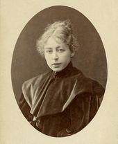 Maria Yakunchikova. Photograph. 1890s