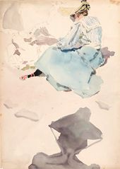 Maria YAKUNCHIKOVA. Sketching. 1889–1890s
