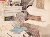 MARIA YAKUNCHIKOVA. Paris. Room at Avenue de Wagram. 1889