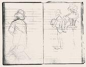 Maria YAKUNCHIKOVA. At the Exhibition. [Salon des Indépendants] Sketches. Diary. 1896