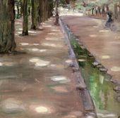 Maria YAKUNCHIKOVA. Avenue in the Bois de Boulogne. 1898