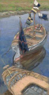 Maria YAKUNCHIKOVA. Boats. Lyubimovka. 1895