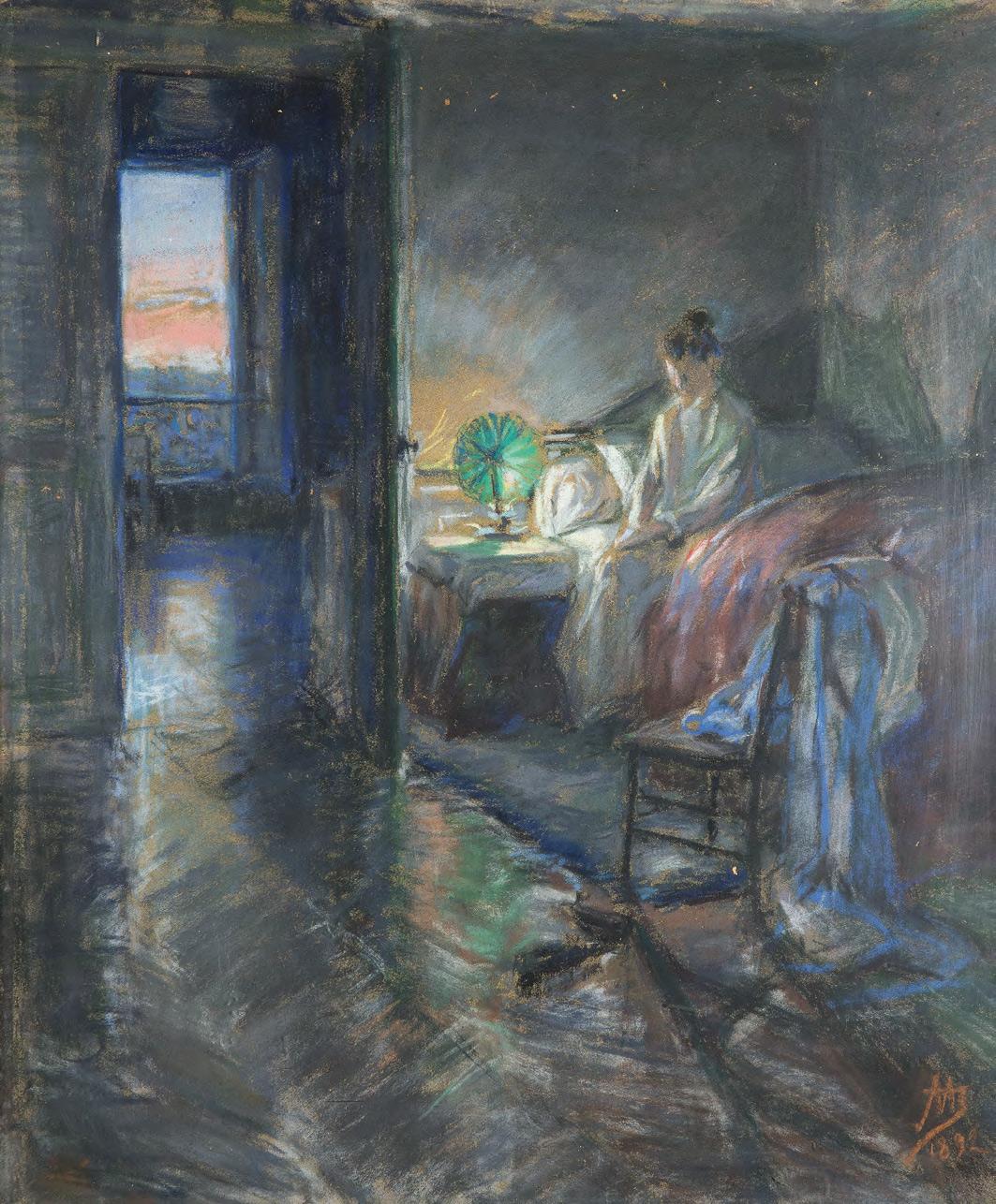 Maria YAKUNCHIKOVA. Sunrise. 1892