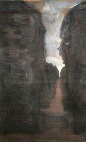 Maria YAKUNCHIKOVA. Dark Avenue. 1898