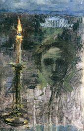 Maria YAKUNCHIKOVA. The Sorrow of Memory (Nostalgia). Late 1880s - 1890s