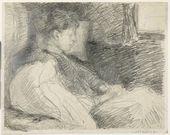 Maria YAKUNCHIKOVA. Dreaming. 1890s