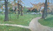 Maria YAKUNCHIKOVA. Summer Landscape. 1889