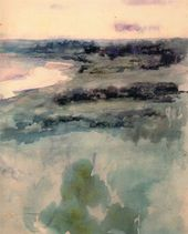 Maria YAKUNCHIKOVA. Landscape with the Moskva River in the Background. 1890–1893