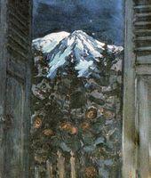 Maria YAKUNCHIKOVA. Mont Blanc by Night