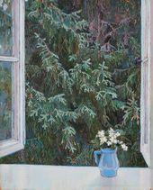 Maria YAKUNCHIKOVA. Window. 1896
