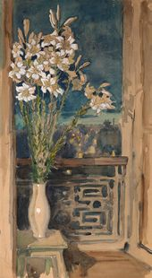 Maria YAKUNCHIKOVA. Lilies over the Town. 1890s