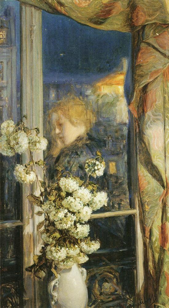 Maria YAKUNCHIKOVA. Reflet intime (Reflection of an Intimate World). 1894