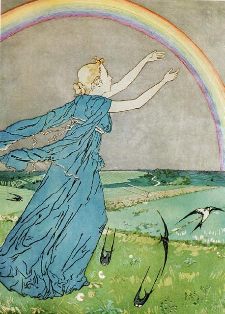 Maria YAKUNCHIKOVA. Rainbow. First half of 1890s