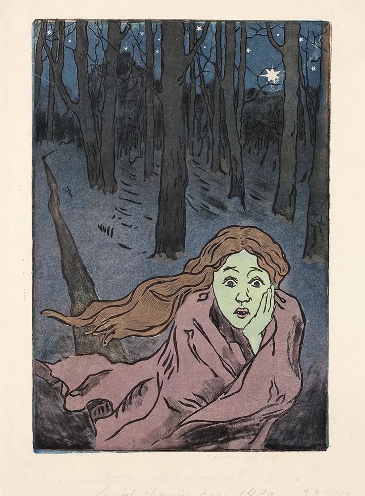 "Maria YAKUNCHIKOVA. L'Effroi (Christie's, June 3, 2013: ""Fear"") 1890s. [1893–1895]"