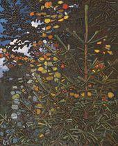 Maria YAKUNCHIKOVA. Aspen and Spruce. 1896