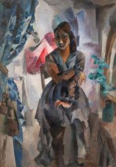 ROBERT FALK. Mulatto Girl Amra. 1918