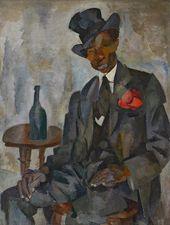 ROBERT FALK. African (Circus Artist). 1917