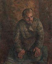 ROBERT FALK. Beggar. 1924