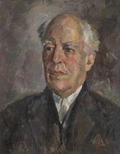 ROBERT FALK. Portrait of Konstantin Stanislavsky. 1926
