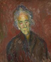 ROBERT FALK. Old Woman. 1931