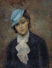 ROBERT FALK. Parisian (Eliane Tayar). 1935