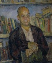 ROBERT FALK. Portrait of Viktor Shklovsky. 1948