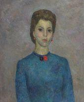 ROBERT FALK. Portrait of Cecilia Voskresenskaya. 1946
