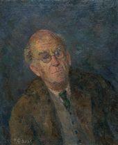 ROBERT FALK. Portrait of Aleksander Gabrichevsky. 1951