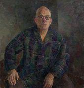ROBERT FALK. Portrait of Aleksander Gabrichevsky. 1953