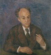 ROBERT FALK. Portrait of Solomon Mikhoels. 1947–1948