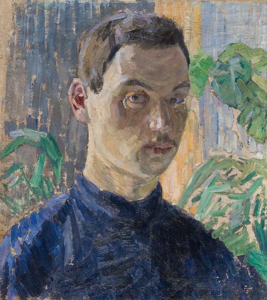 ROBERT FALK. Self-portrait. 1906–1907