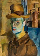 ROBERT FALK. Self-portrait. 1917
