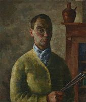 ROBERT FALK. Self-portrait in Yellow. 1924