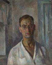 Self-portrait in White Shirt. 1924