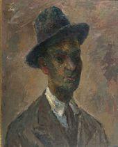 "ROBERT FALK. ""Mulatto"" (Self-portrait). 1935"