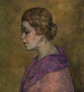 ROBERT FALK. Portrait of A.V. Azarkh-Granovskaya. 1926