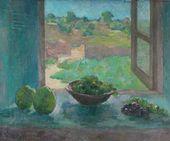 ROBERT FALK. Window. Moldavia. 1951