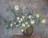 ROBERT FALK. White Hedge-Rose in the Pot. 1952