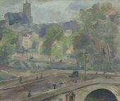 ROBERT FALK. Pont Marie. 1929