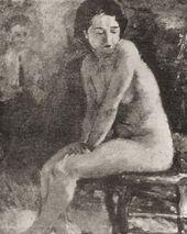 TATIANA VERKHOVSKAYA. Nude. 1935