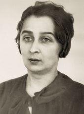 Eva Levina-Rozengolts. Second half 1930s