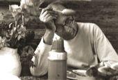 Robert Falk at the dacha. 1954