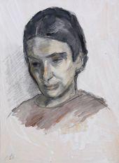 ROBERT FALK. Portrait of Angelina Shchekin-Krotova.