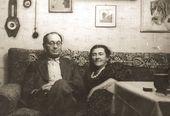 Robert Falk visiting Tatiana Shevchenko. 1954
