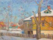 ROBERT FALK. Zagorsk. Sunny Day. 1955