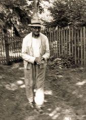 Robert Falk at the dacha of Natalya Strelchuk. 1954. Novo-Bykovo
